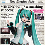 "MIKUNOPOLIS in LOS ANGELES ""Happy to meet you ! I'm HATSUNE MIKU"" / Various Artists"